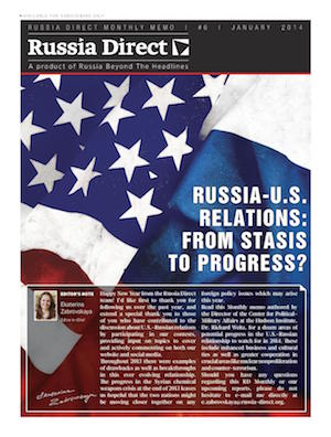 Russia Direct Brief: 'Russia-U.S. Relations: From Stasis to Progress?'