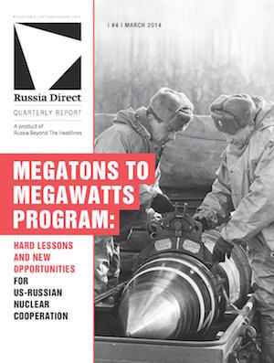 Russia Direct Report: 'Megatons to Megawatts Program'