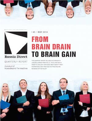 Russia Direct Report: 'From Brain Drain to Brain Gain'