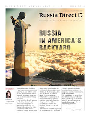 Russia Direct Brief: 'Russia in America's Backyard'