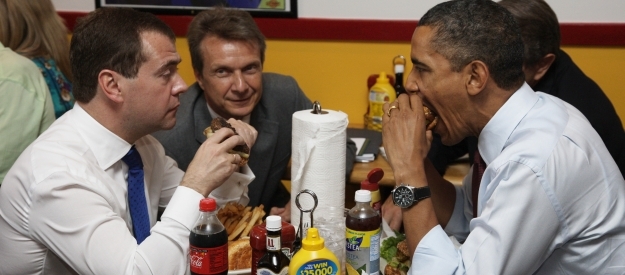 Burger Diplomacy: From Big Mac to Shake Shack
