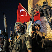 Who is behind the failed coup attempt in Turkey?