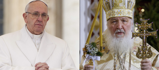 Upcoming meeting between Pope Francis and Patriarch Kirill attracts attention of Russian media