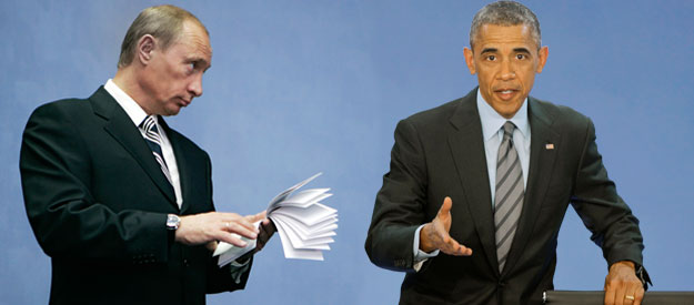 The final endgame between Putin and Obama