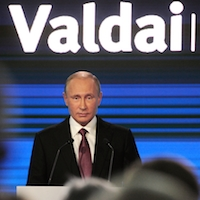 Putin's Valdai Club speech, the UN criticism of the Kremlin and Russia's presence in the Mediterranean