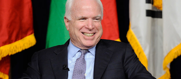 Papa don't preach: The McCain sermon