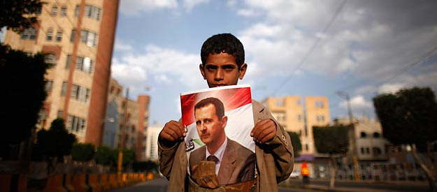 Conspiracy theorists are having a field day with Syria