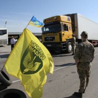 What are the implications of the Crimean food blockade for Russia?