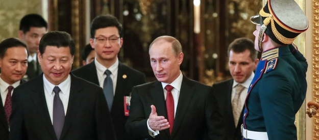 U.S. think tanks warn against Russia's China pivot