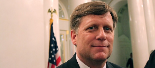 The end of the U.S.-Russia reset? U.S. Ambassador McFaul steps down