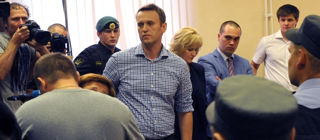 Opposition leader Navalny sentenced to 5 years