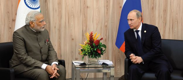 Re-thinking Russia's relationship with India