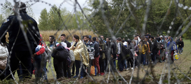 The European refugee crisis could lead to a split in EU