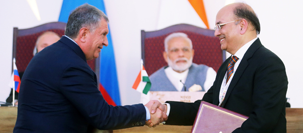 Rosneft's Indian romance