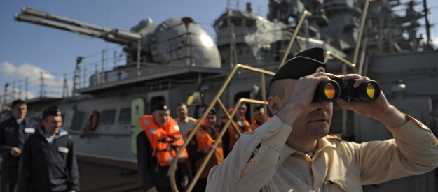 Does Russia pose a naval threat for the West in Mediterranean?